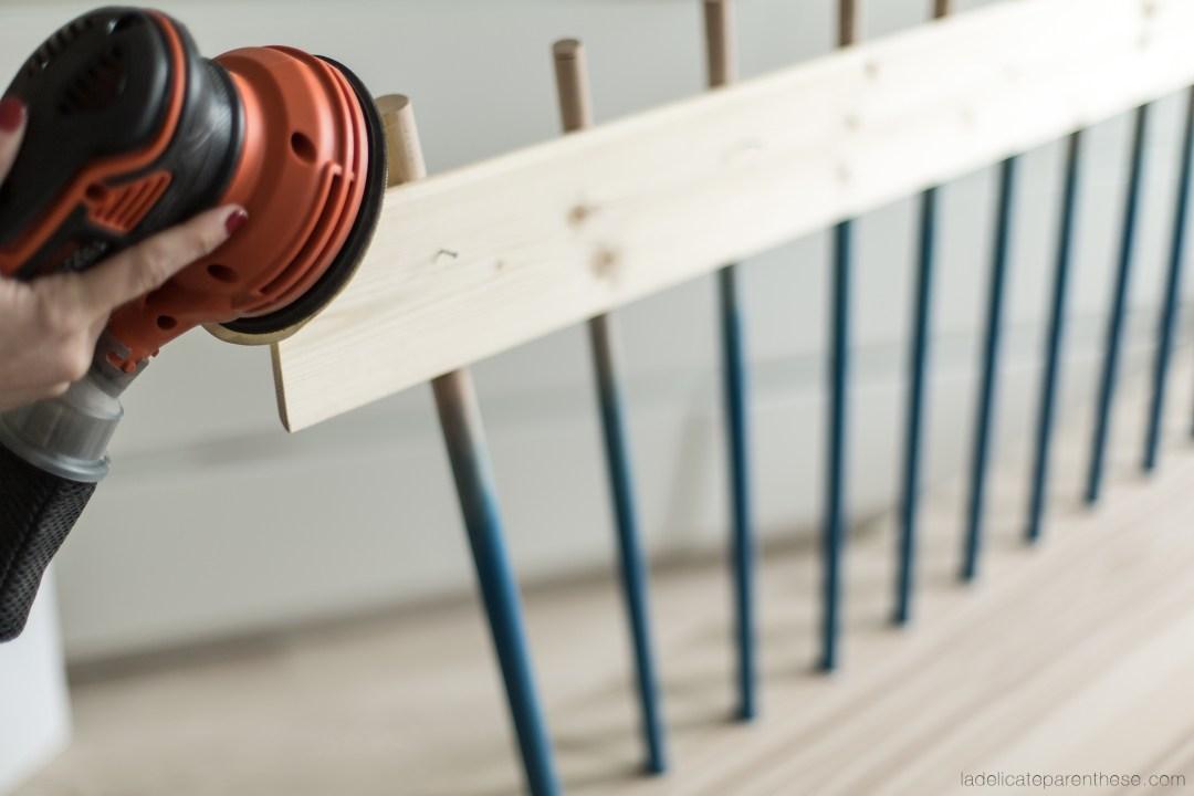 Blog DIY création banc inspiration scandinave en détournant une table basse IKEA