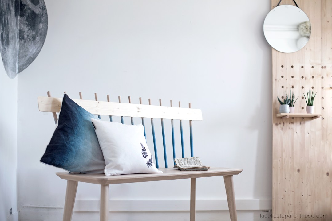 transformer une table basse en banc handmade IKEA HACK