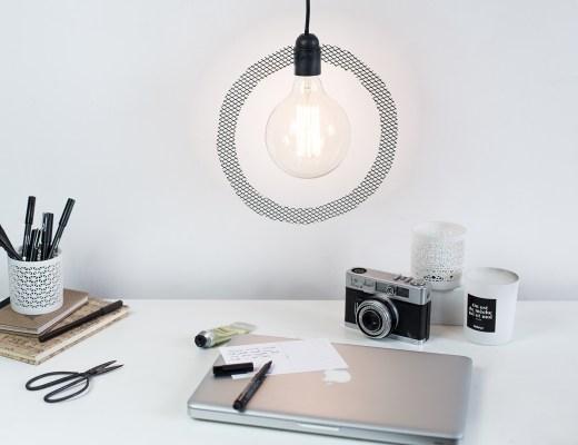Home création DIY handmade baladeuse minimaliste