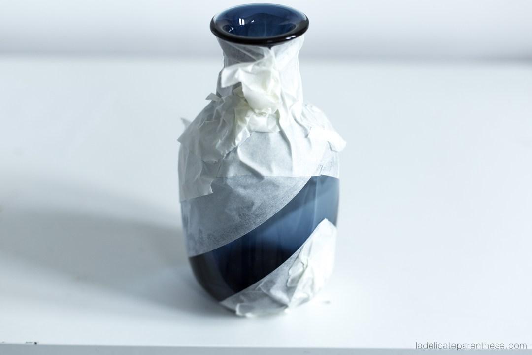 création DIY blog , vases lièges