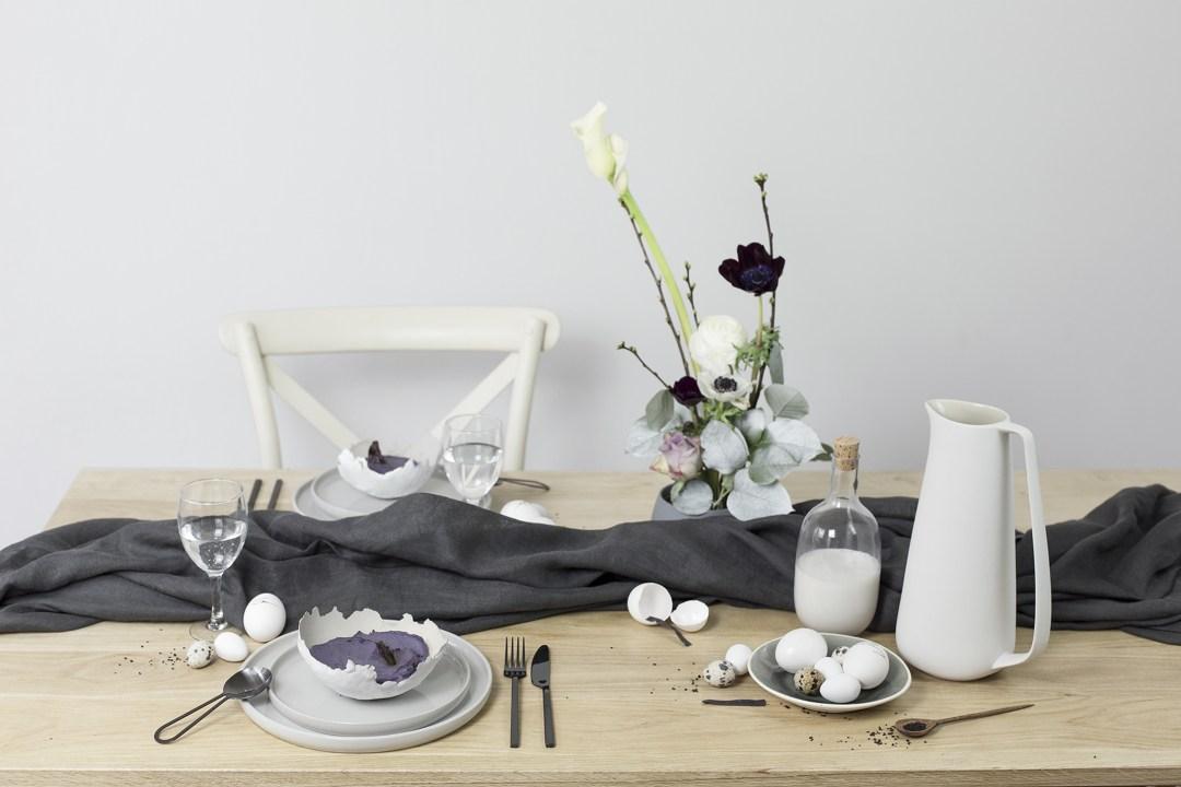home décoration création handmade easter table