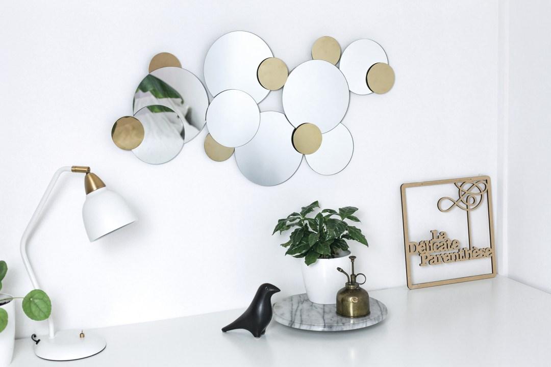 home creation DIY miroir ikea hack handmade