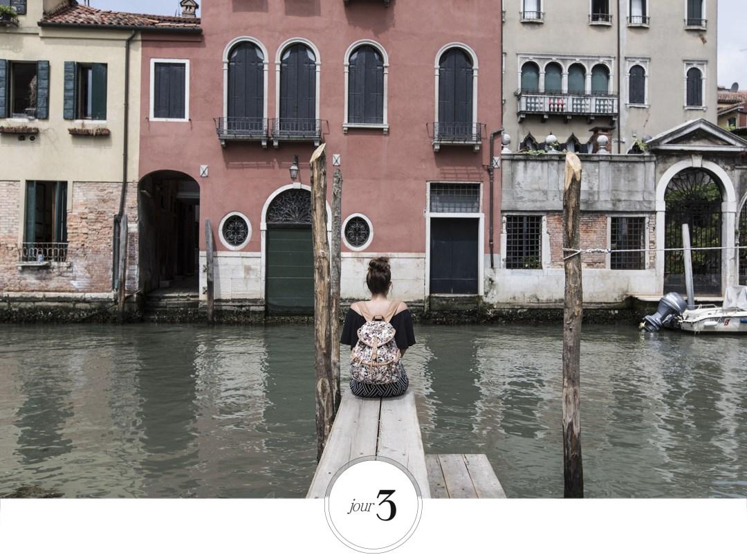 découverte de Venise, observer le paysage
