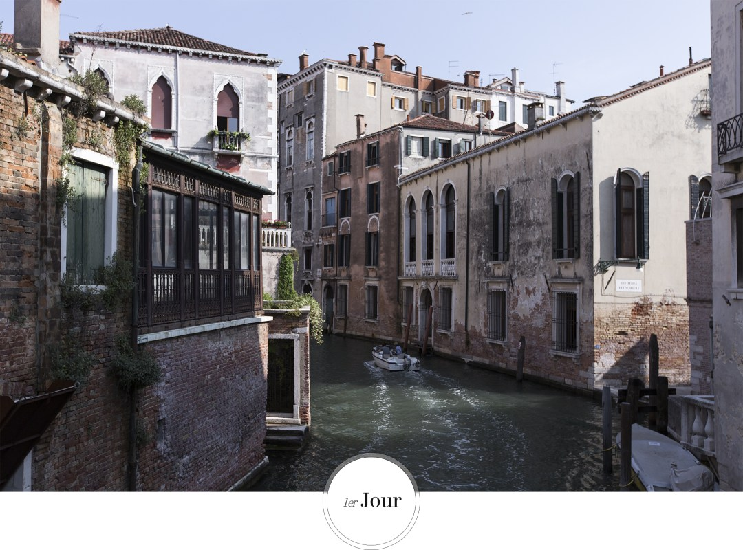 premier jour à Venise Découverte de la ville , ruelle et lagune