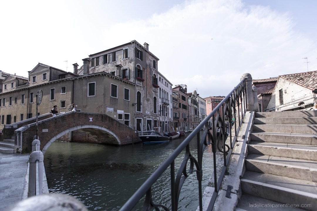 Venise en trois jours, voyage