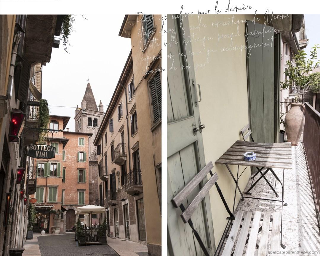 Verone coup de coeur découverte Italie