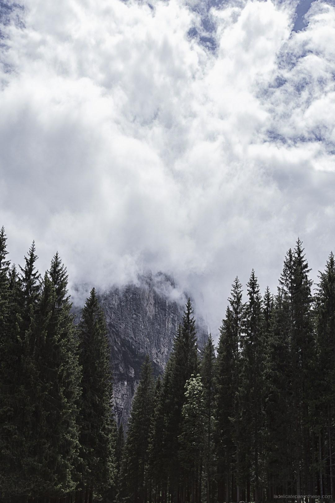 Lago di Sorapis - Sud tyrol sapin