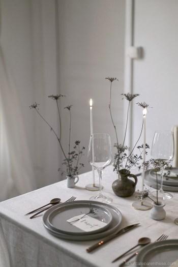 Festive table création noel DIY