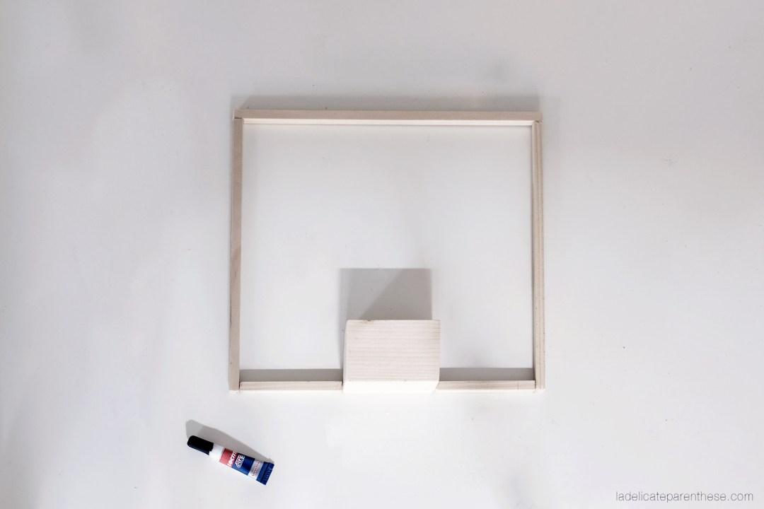 DIY handmade luminaire soliflore