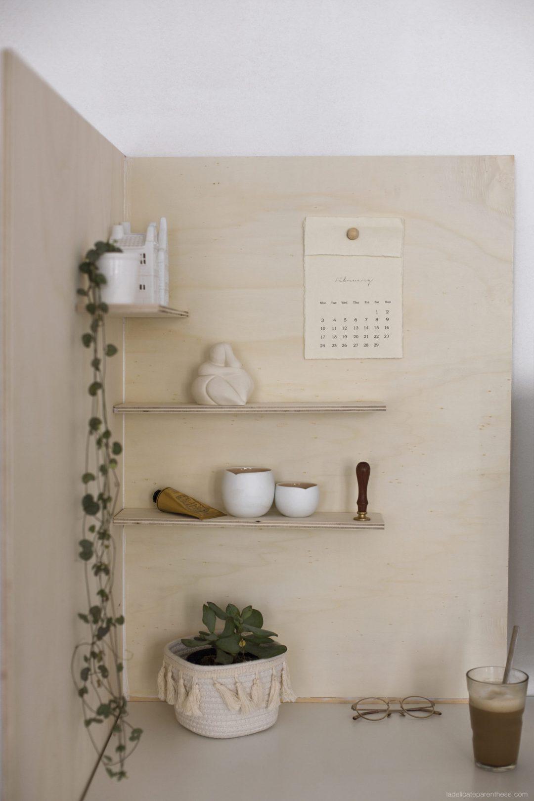 création handmade Meuble d'angle en bois