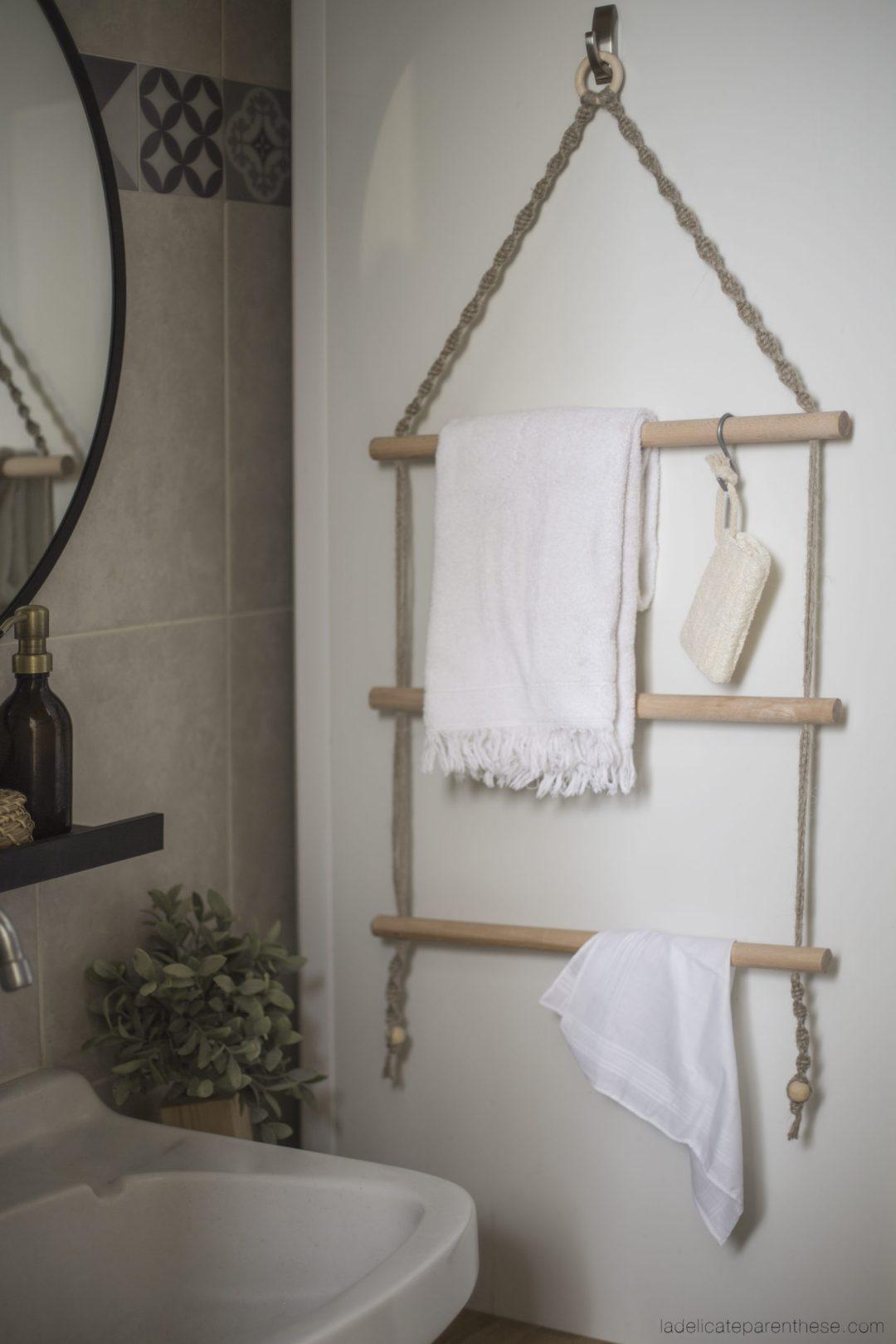 creation handmade wall hanging towel decoration