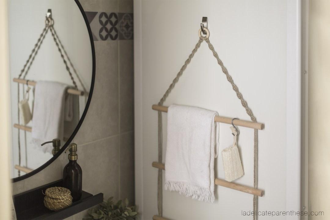 wall hanging towel DIY command 3M