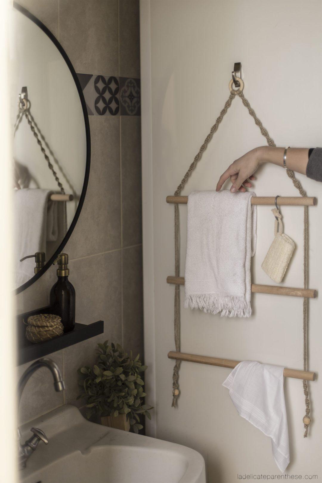 creation handmade porte serviette