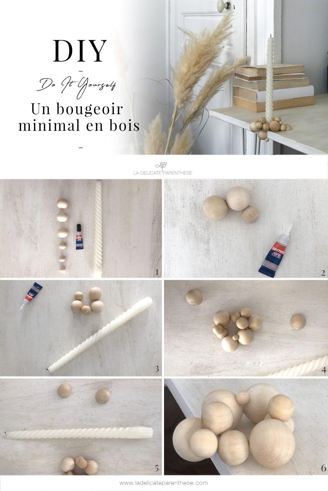 HOME creation DIY bougeoir handmade pas a pas