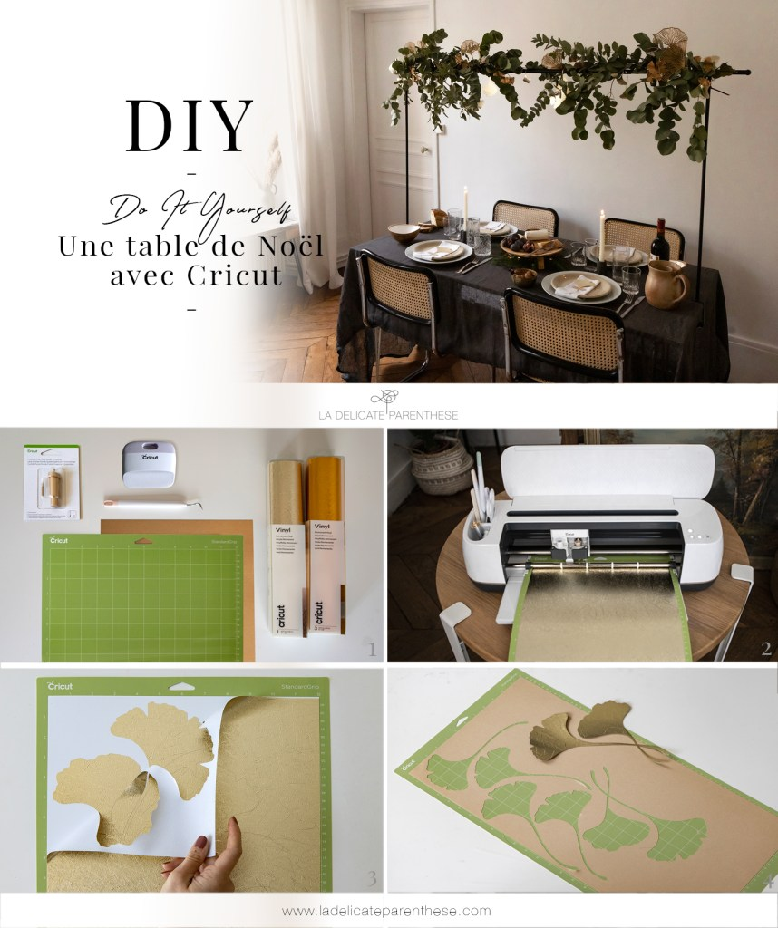 pinterest épingle décoration table festive