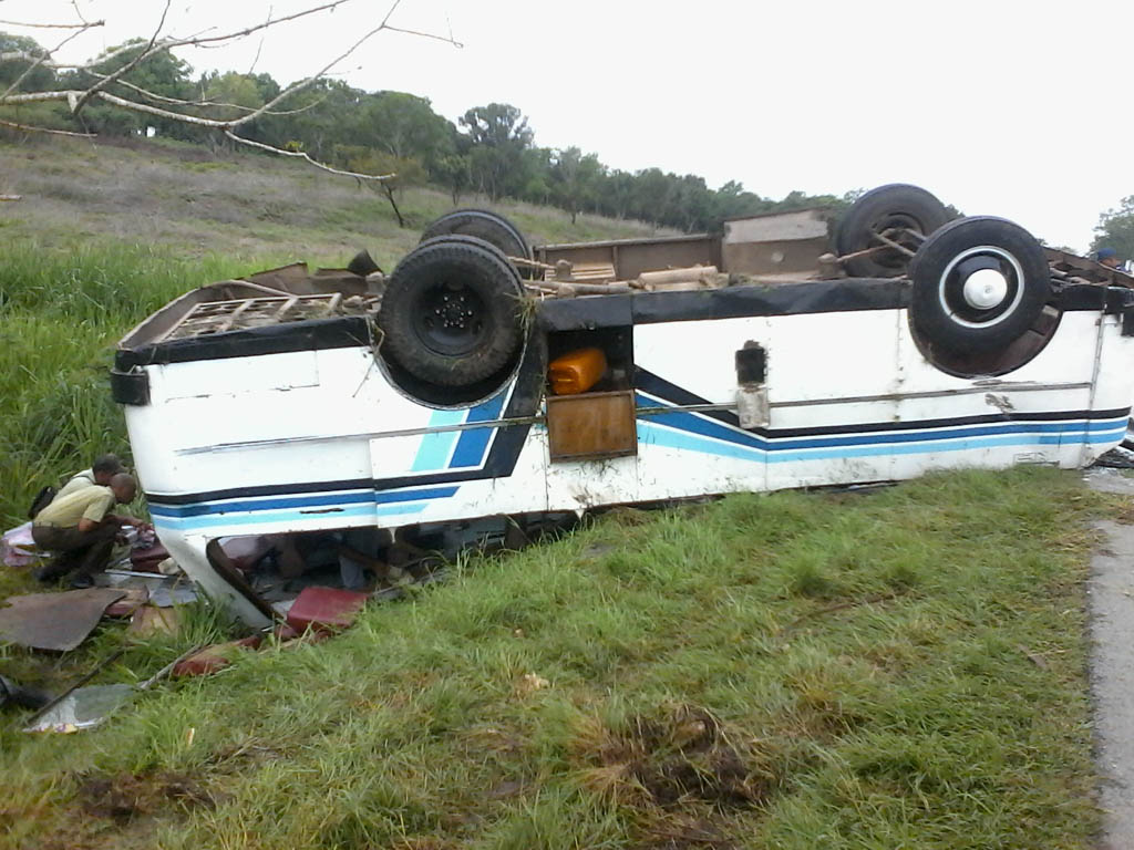 Accidente de tránsito, Bayamo 9