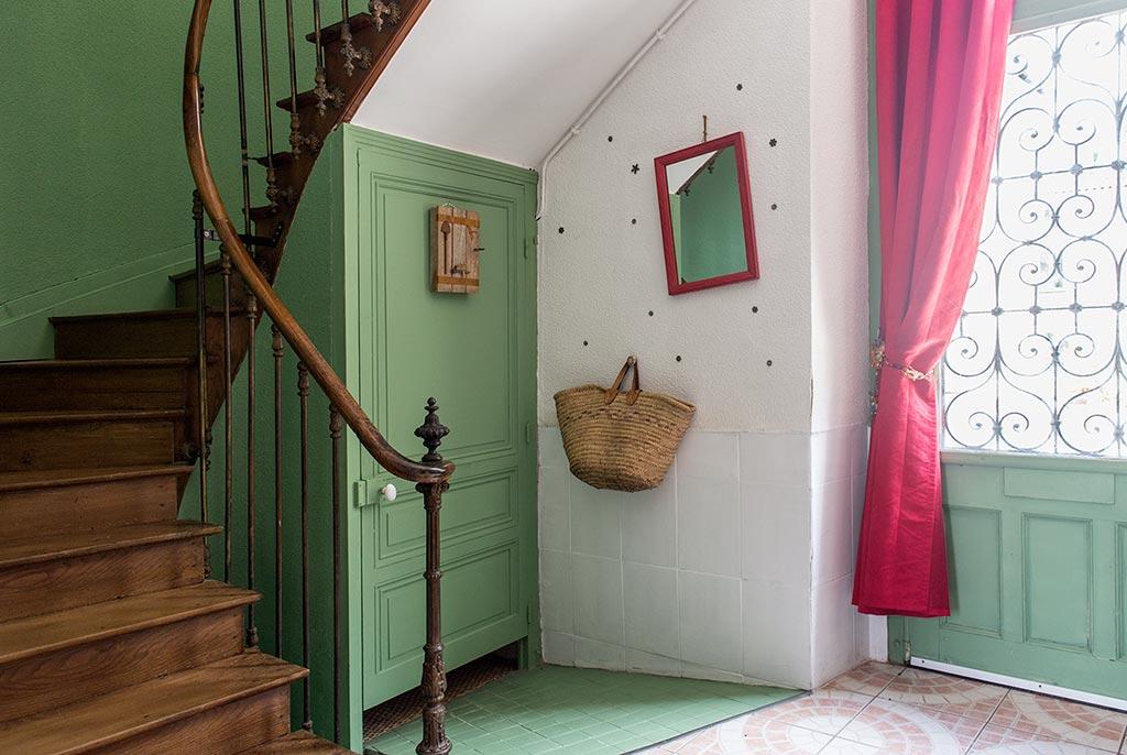 L'entrée de la Demeure du Grand Moulin, chambres d'hôtes près de jonzac