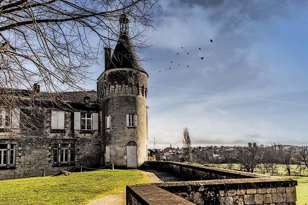 le chateau de jonzac