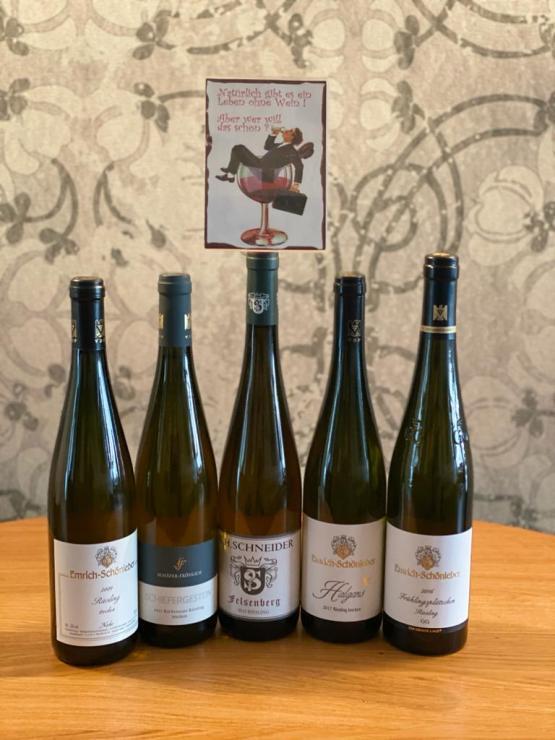 Virtuelle Weinprobe: Samstag, 27.03.21, 19 Uhr