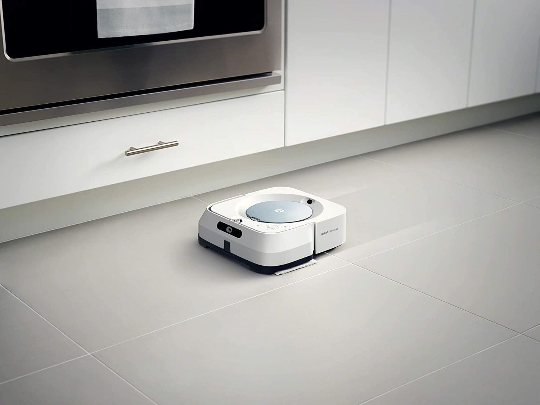 Solde Amazon : Promo actuelle à - 216 € sur le robot aspirateur / laveur de sol Roomba i6+ d'iRobot bon plan