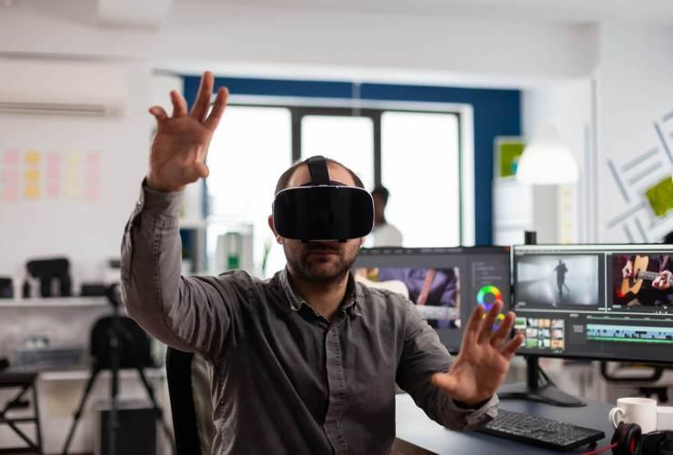 former avec réalité virtuelle formation entreprise