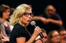 Rosa Boladeras durant el debat de La Descomunal