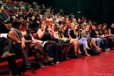 Públic de La Descomunal 7 durant el debat