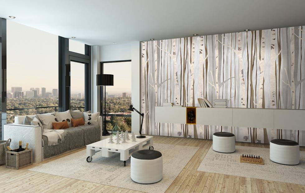 Da maisons du monde potete trovare una molteplicità di stampe su tela, ideali per la zona. Carta Da Parati Eco Deco