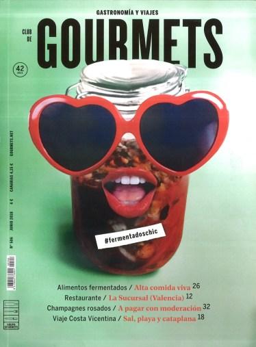 Portada junio de Revista Gourmets
