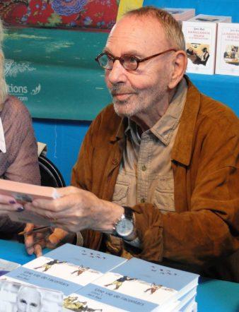 L'auteur danois Jørn Riel est venu à la rencontre de ses lecteurs sans oublier de conter un ou deux racontars.