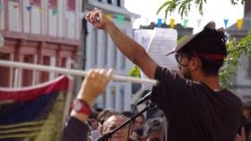 Grande manifestation à Lannion contre l'extraction de sable par le groupe Roullier - La Déviation