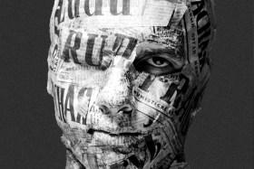 200512 - Allegory of communist press censorship analogue picture taken in 1989 by Jacek Halicki format paysage - La Déviation