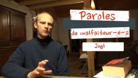 200520 - Capture d'écran Youtube Bure Paroles de malfaiteur.es Joël - La Déviation