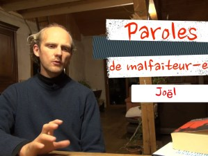 200520 - Capture d'écran Youtube Bure Paroles de malfaiteur.es Joël - La Déviation