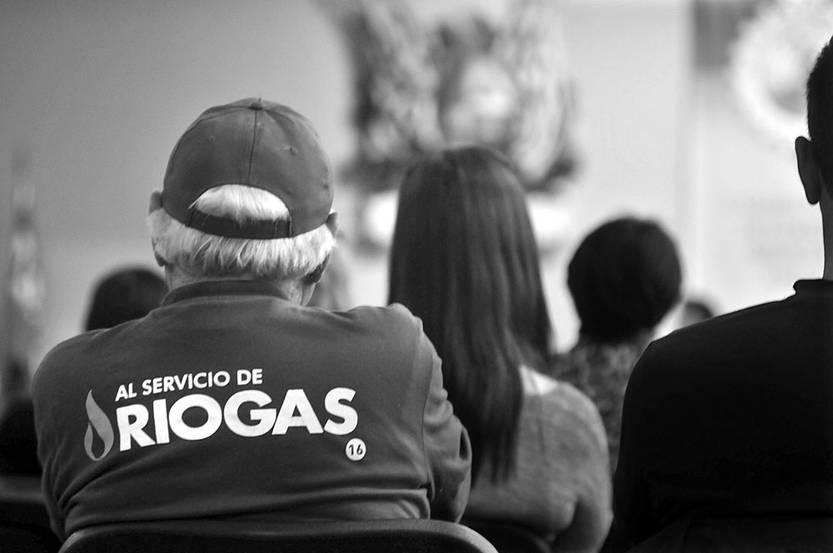 Asamblea de distribuidores de supergás, ayer, en la Cámara Nacional de Comercio y Servicios. Foto: Federico Gutiérrez