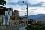 Medellin barrio art, where walls say a thousand words