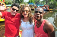 New friendships are formed whilst messing about on the river in Mexico City.