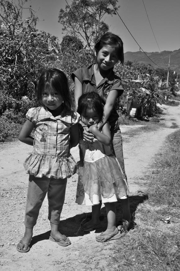 Girls in Ocosingo, Chiapas