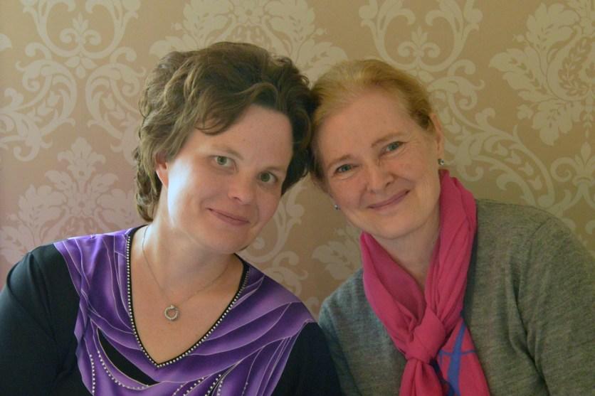 Annette Relander ja Annukka Paloheimo