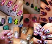 funky nail design short nails