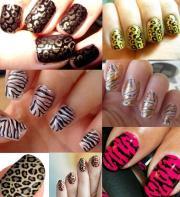 animal print nail art inspire