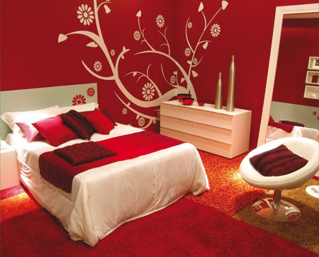 Beautiful Red Bedroom Decor Ideas