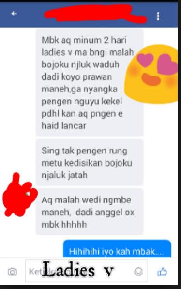 Ladies V Infinesse Bengkulu