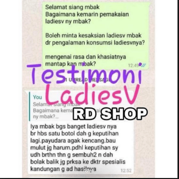 Testimoni Ladies V Infinesse Global Indonesia
