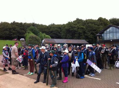 71 children eager to go fishing at Rutland