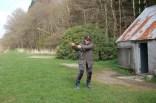 Suzanne's golf swing