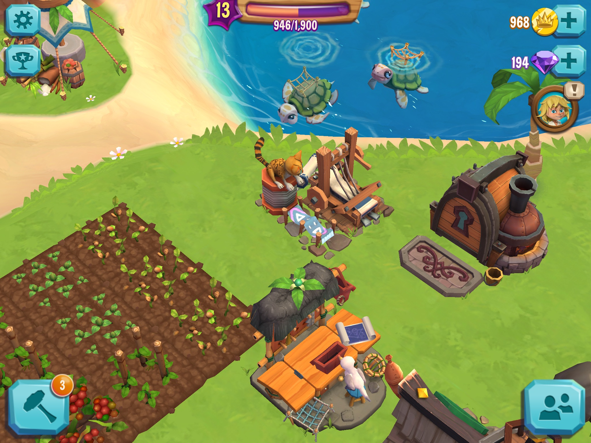 Paradise Bay, King's answer to a Hay Day | Ladiesgamers com