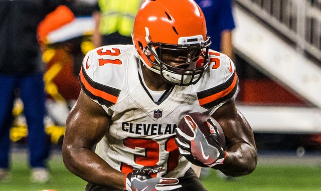 Cleveland Browns Running Back Nick Chubb