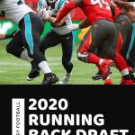 NFL Carolina Panthers running back Christian McCaffrey running for a touchdown.