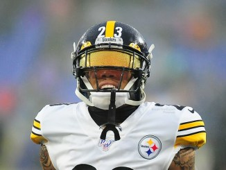 NFL Pittsburgh Steelers cornerback Joe Haden